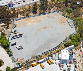 Via Excelencia For Lease | 2.35 Acre Fenced and Secured Yard Miramar