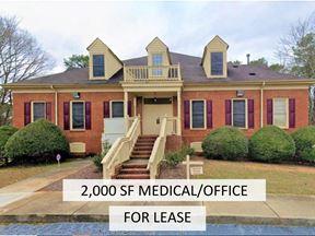 Medical/Office Space Near Stone Mountain   2,000 SF - Stone Mountain