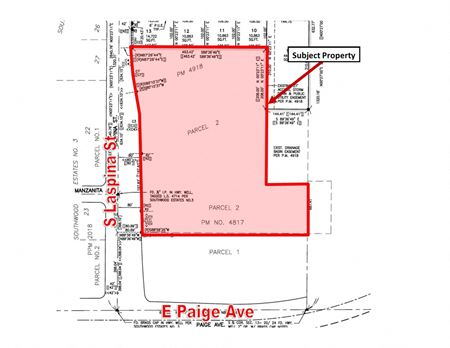 Two Parcels of Prime Retail Land off CA-99 and Paige Avenue - Tulare