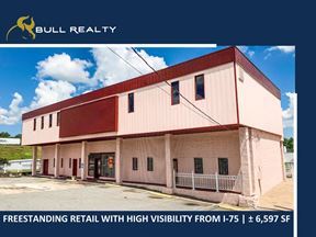 Freestanding Retail with Visibility from I-75  | ± 6,597 SF - Marietta