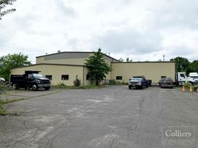 19,500 sf heavy equipment service garage building for lease