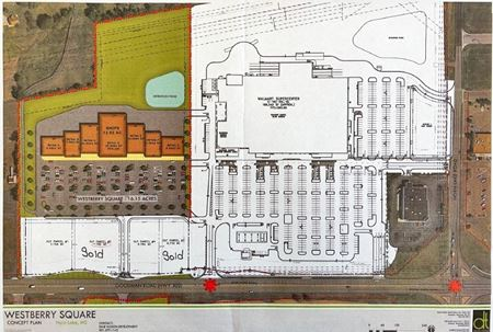 Westberry Square - Walmart Outparcels Ready for Development - Horn Lake