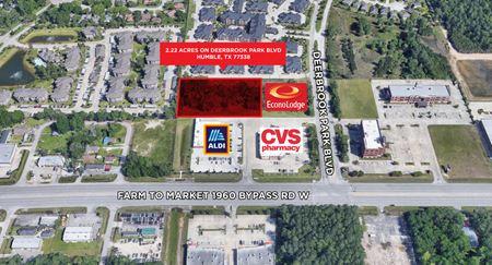 ±2.22 Acres on Deerbrook Park Boulevard - Humble