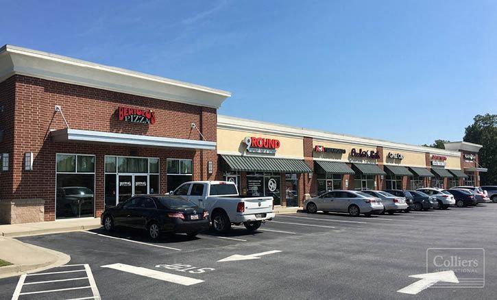 Retail Shopping Center on NE Main Street