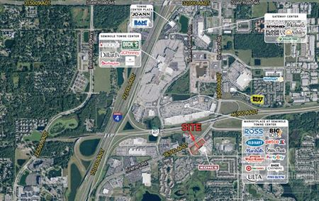 Sanford - Retail Space and/or Outparcel Opportunities Available - Sanford