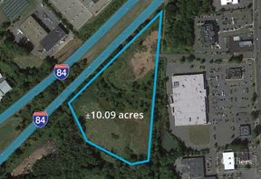 With excellent I-84 visibility, site is ideal for office, medical and retail