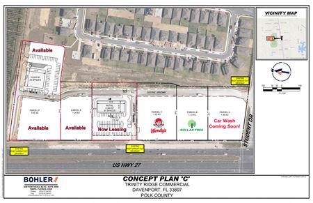 Trinity Plaza, Davenport, Fl  3 Out Parcels Available! - Davenport