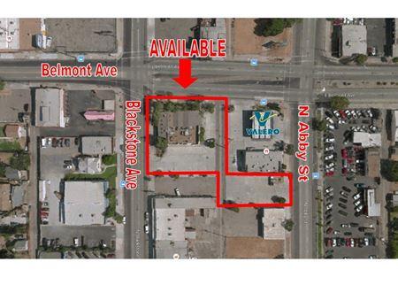 Freestanding Retail/Restaurant Hard Corner Pad Building + Bonus Parking - Fresno