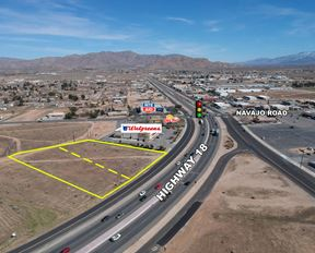 NWC of Highway 18 and Navajo Rd - Apple Valley