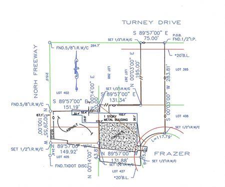 +/- 1.5 acres of North Freeway/I-45 Frontage - Houston