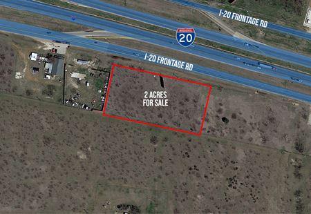 2 Acres Raw Land on I-20 - Abilene