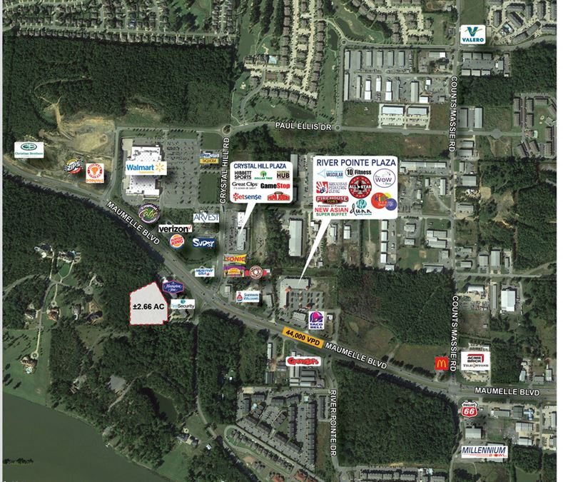 Office, Medical, or Retail/Commercial Land