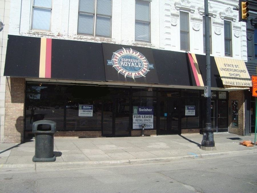 Downtown Ann Arbor Retail Space For Lease