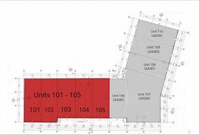 J.W. KESSING BLDG - FLEX RETAIL FOR LEASE - Off Hwy 64 in Pittsboro (1,550 SF - 8,100 SF) - Pittsboro