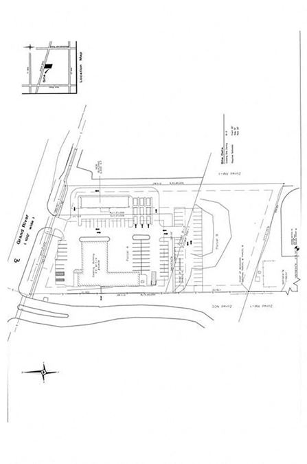 Proposed Grand River Retail Office Building