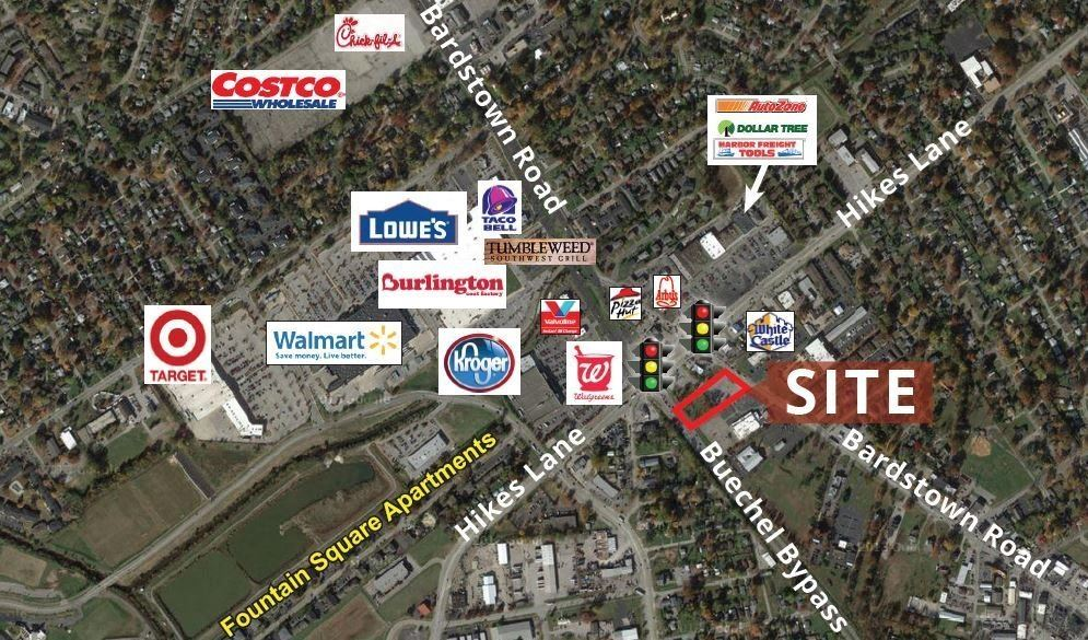 Bardstown Road Out Lot for Lease or Sale
