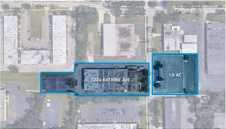 45,000 SF Building Available for Sale in Downers Grove, IL