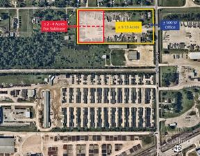For Sublease | ±2 Acre - 4 Acres Stabilized Yard