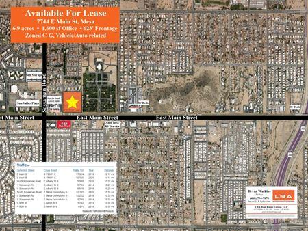 East Main Auto Sales Lot - Mesa