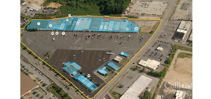 Spartanburg Shopping Center Space for Lease