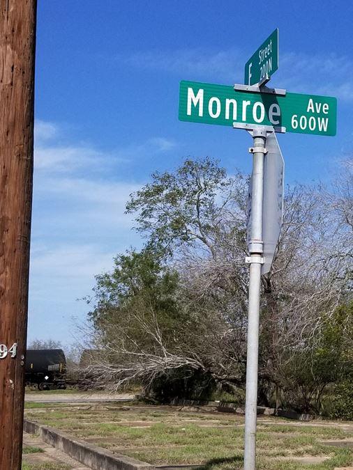 #4 - F St. & W Monroe St  .161AC