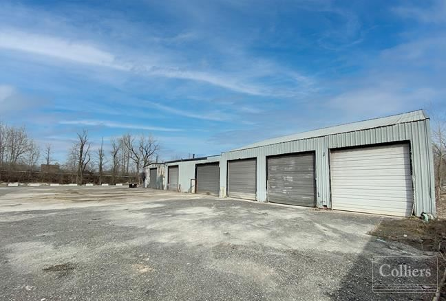 Maintenance Facility with Multiple Drive-In Doors