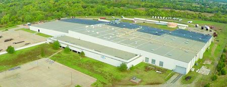 Heavy Crane and Rail-Served Industrial Building Available - Stillwater