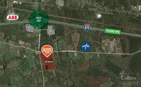 Buckhorn Industrial Park: Industrial Space for Lease Along I-85 Corridor - Mebane