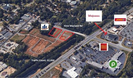 Price Improvement! Fully Developed Retail Pads *As little As $200,000 - Powder Springs