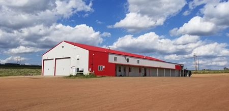 12,750 SQ FT Shop on +/- 38 Acres on Highway 85 South in Watford City - Watford City
