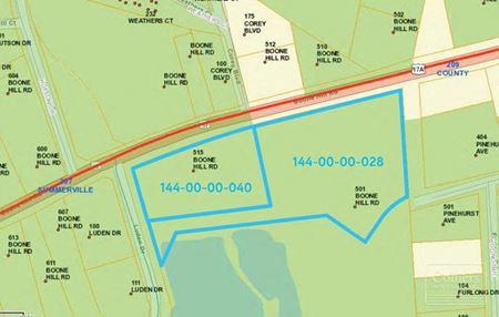 ±5.22 Acres at Corner of  Boonehill Rd & Luden Dr in Summerville - Summerville