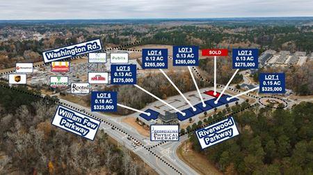 6 Evans (GA) Development Pads | Addison Square - Evans