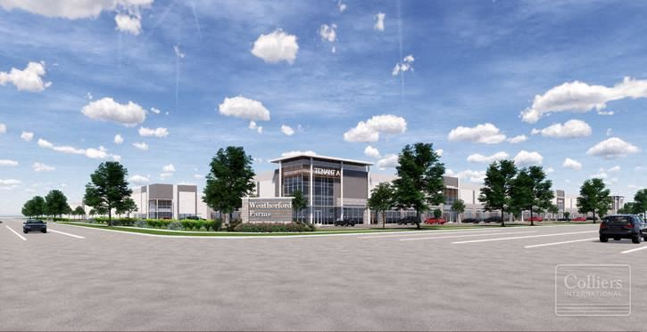 For Lease | Weatherford Farms Industrial Park – Stafford, TX