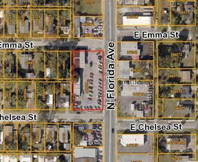 Seminole Heights Auto Dealership or Redevelopment! One block long on N Florida Ave!