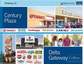 Century Plaza   Delta Gateway   Two Adjacent Power Centers - 600K SF