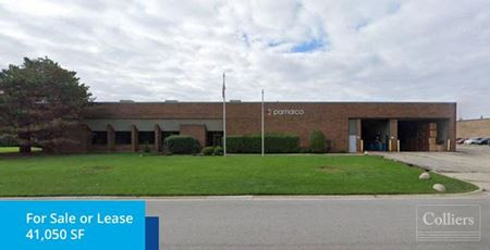 41,050 SF Available for Sale or Lease in Wheeling - Wheeling