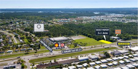 Commercial parcel on Tamiami Trail in North Port - North Port