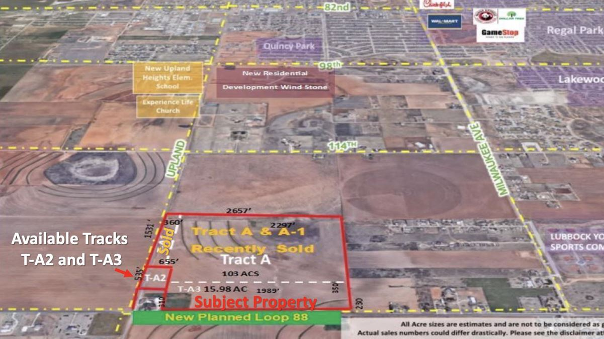 Development  Land with Upland Avenue and 1585 Frontage
