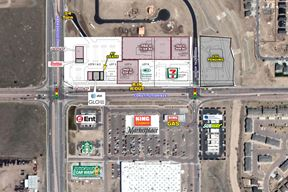 Sand Hill Retail Center - Constitution Ave & Marksheffel Rd - NEC