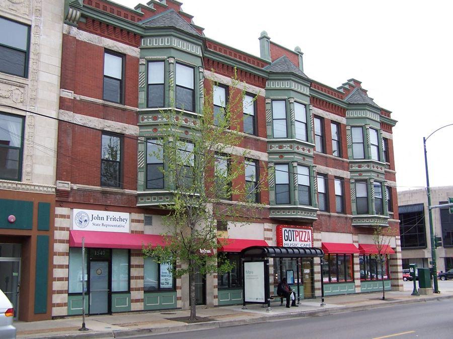 1547-1549 W Belmont Ave, Chicago, IL