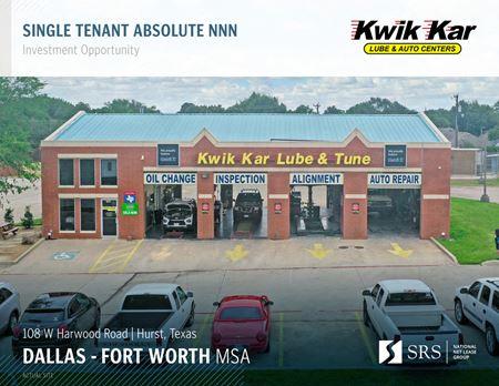 Hurst, TX - Kwik Kar Tune and Lube - Hurst
