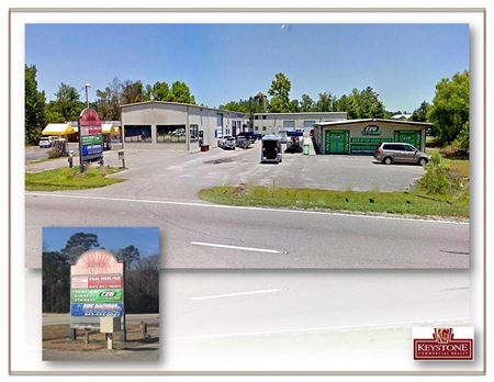 Red Hills Business Center-Unit 102-Trade Shop-800 SF Available for Lease - Conway