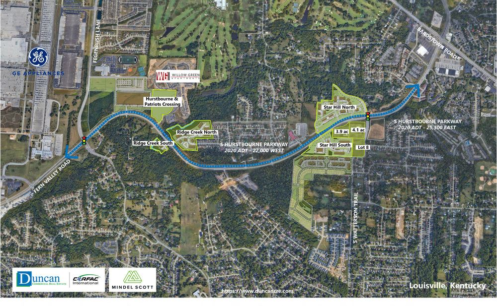 6700 and 6600  Hurstbourne Parkway Land