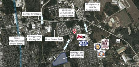 For Lease | Office / Warehouse Space in Conroe, Texas - Conroe