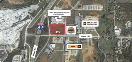 4.57 Acres 45th & Wagon Wheel - Springdale, AR - Springdale