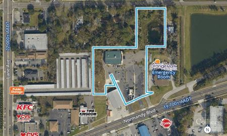 4.80 Retail Property For Sale NW Jacksonville | 5801-5835 Normandy Blvd - Jacksonville