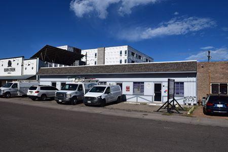 T.O.D office/warehouse building at Evans Station - Denver