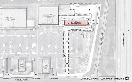 Grove Plaza-Ontario-Ground Lease or BTS - Ontario