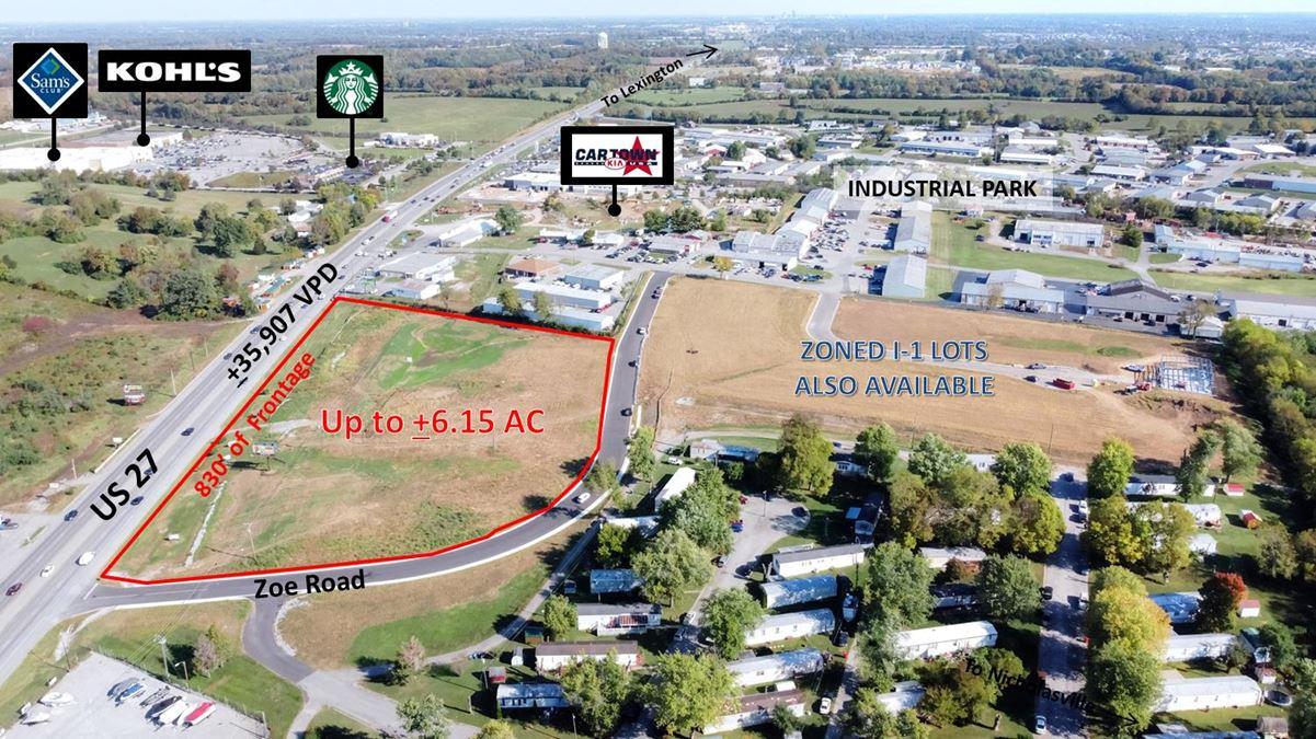 Nicholasville US 27 Land