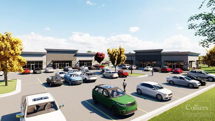 Office/Retail Spaces on Busy Intersection!